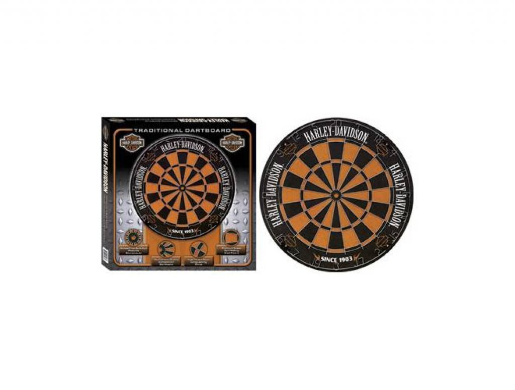 Harley Davidson 61978 Traditional Bristle Dartboard-2