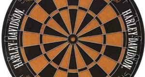 Harley Davidson 61978 Traditional Bristle Dartboard-1