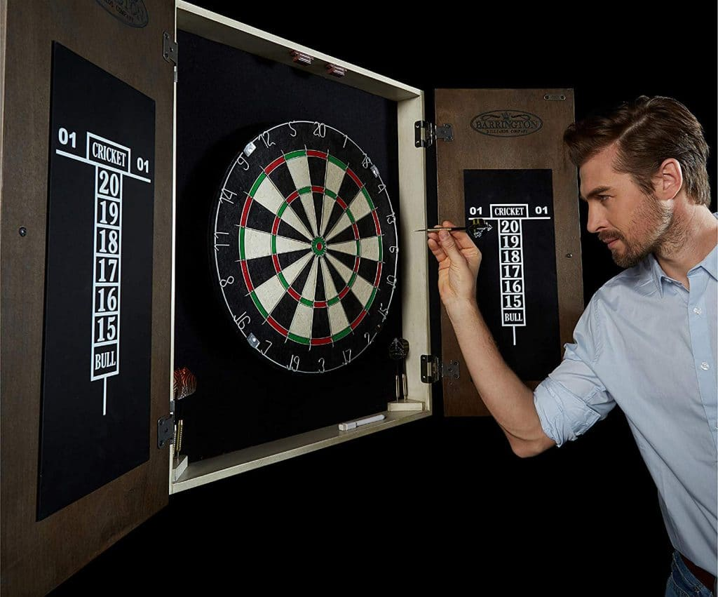 5 Awesome Dart Board Cabinets for Your Rec Room