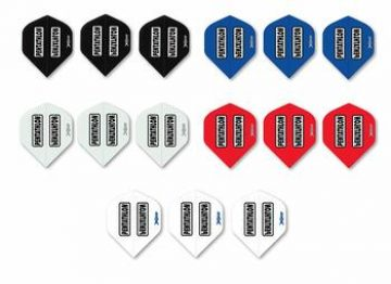 10 New Sets Pentathlon Double Thick Standard Wide Dart Flights Huge Selection
