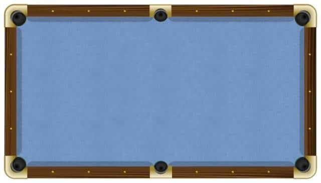 8 Proform High Speed Professional Pool Table Cloth Felt Euro Blue