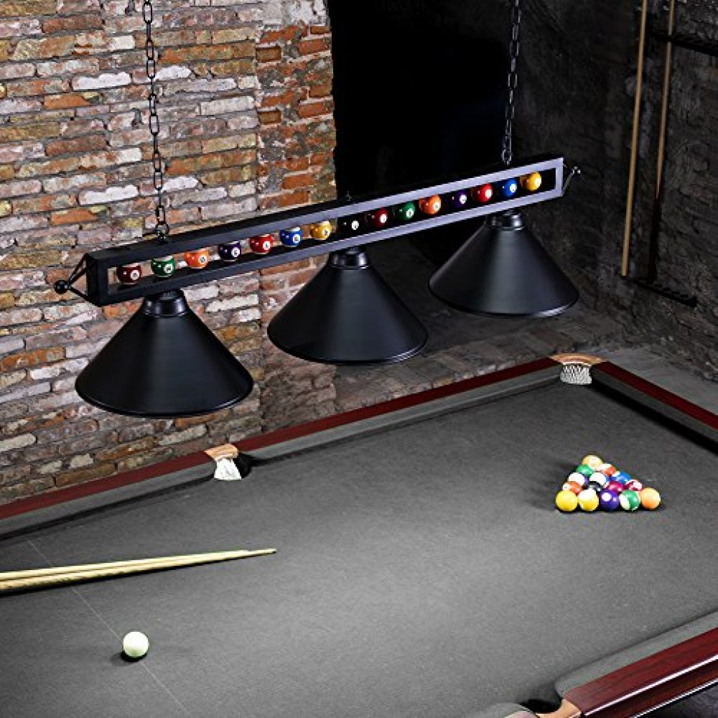 6 Best Pool Table Lighting Picks Reviewed In Detail Dec 2019