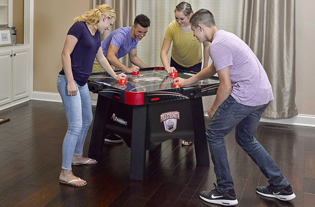 5 Best 4-Player Air Hockey Tables – Your Favorite Game with More Opportunities!