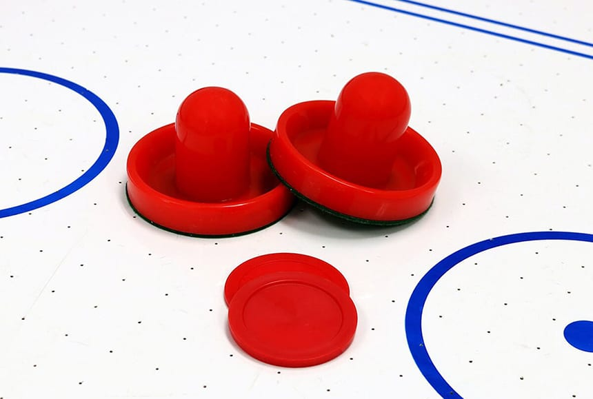 6 High-Quality Air Hockey Pucks and Paddles for the Best Gaming Experience Ever