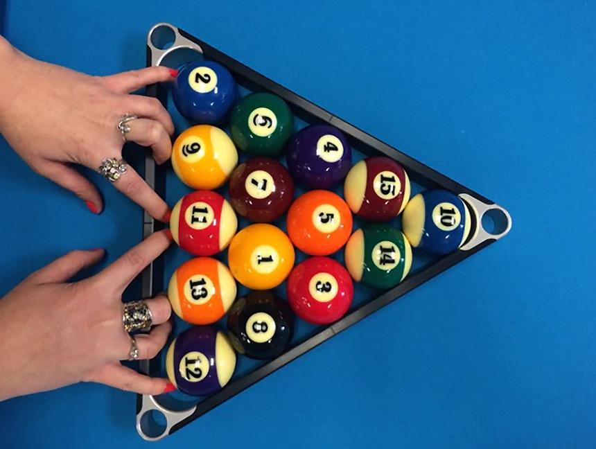 How to Rack Pool Balls?