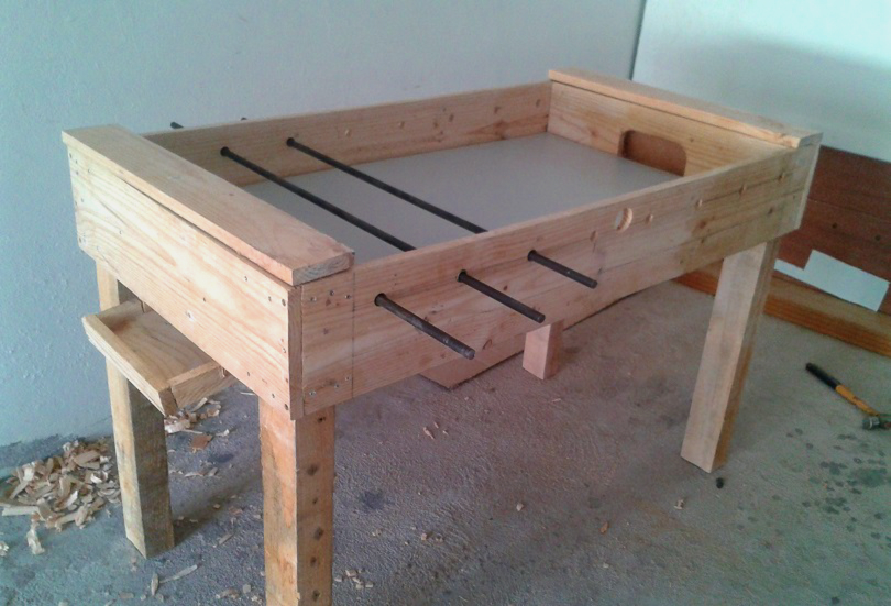 DIY Foosball Table: How to Make It, Step by Step