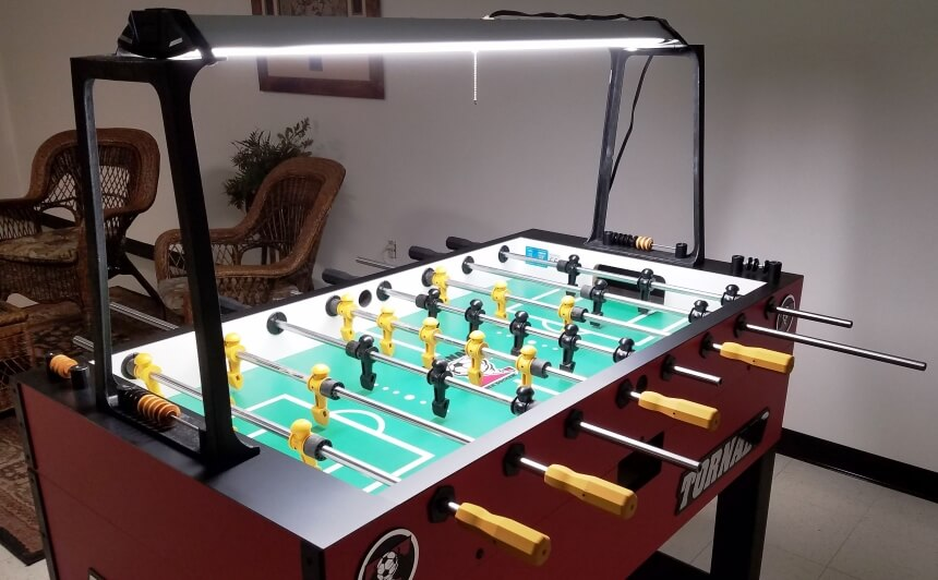 Foosball Table Parts: Learn How It's Made