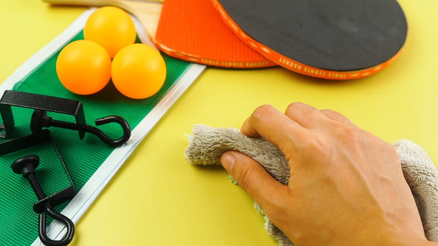 How to Clean a Ping Pong Table: All You Need to Know