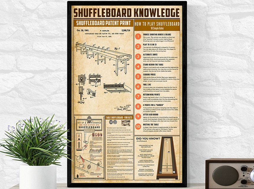 10 Shuffleboard Accessories to Complement Your Game Room