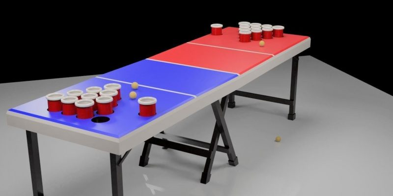 6 Awesome Beer Pong Tables for Your Parties